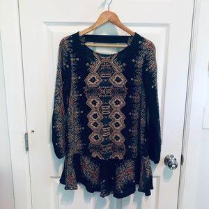 Free People Boho Tunic Dress